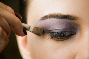 Purples and plums are perfect for brown eyes!
