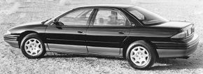 """The Eagle Vision was an attempt at an American-made """"European"""" style sedan."""