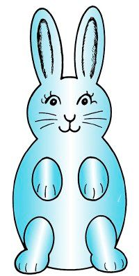 This adorable bunny is sure to delight children.