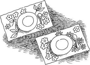 Spring Place Mats Easter Craft
