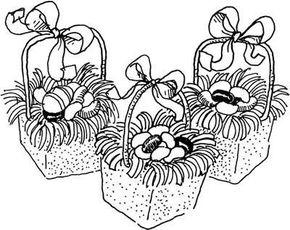Mini-Easter Baskets Easter Craft