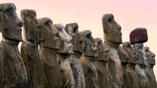Climate Change Threatens the Moai of Easter Island