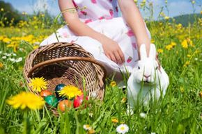 Believing in the Easter bunny can boost your child's creativity. See more holiday pictures.