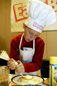 It's a fact: Boys like to bake, too.