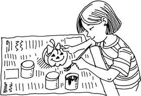 This Halloween Hello craft will get everyone who receives one in the trick or treat spirit.