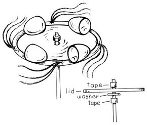 Measure wind speed with an anemometer.