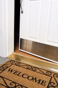 Don't leave your guests out in the cold because your door won't open.