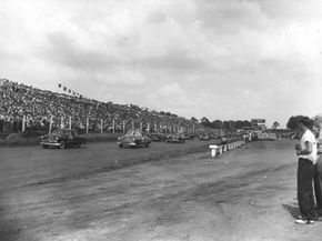In 1949, during the first NASCAR Grand National race (now known as the Sprint Cup) the original winner was disqualified because of the use of some bootlegger ingenuity