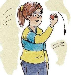 Hold the yo-yo palm up.