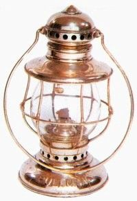 Conductors and brakemen on freight and passenger trains once relied exclusively on hand and lamp signals to communicate with each other, the engine crew, and station agents. This Pullman lantern was typical of the 1880s-1900s.