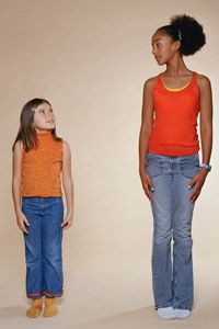 Starting puberty earlier than normal is becoming more and more common in girls.