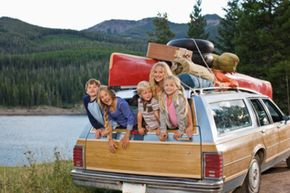 At one time, station wagons were considered the perfect vehicle for a family vacation.