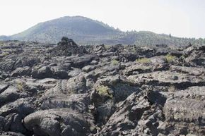 Craters of the Moon is an apt name for this preserve -- it certainly looks like a lunar landscape.