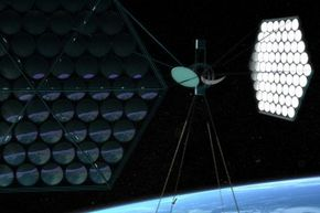 Could we beam down Earth's energy from space?