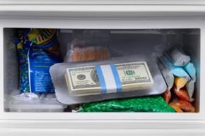 Don't throw away your money with your leftovers -- freeze the extra food for another meal.