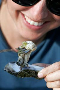 That oyster might be delicious with a little lemon, mignonette or hot sauce, but is it safe to eat?