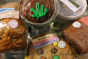 Places like Colorado have many THC-laced edibles for sale.