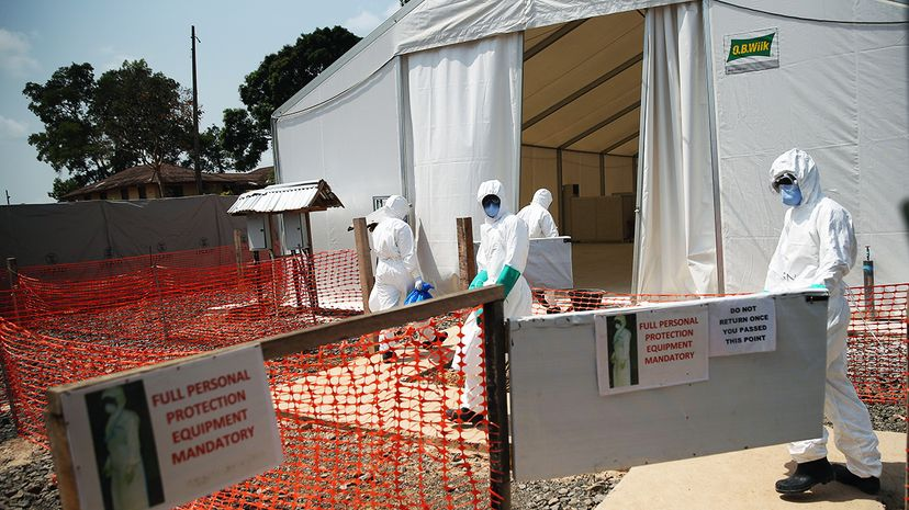 Ebola health workers