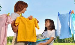 Forget the dryer, hang your clothes outside to save energy and money.