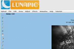 LunaPic is one of numerous editors that also appear as an app that integrates directly into Facebook.