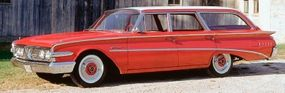This 1960 Edsel Villager is one of only 59 produced before the Edsel line folded.