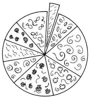 The Fractional Pizza Game might make you hungry.