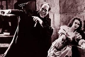 The 'Man of a Thousand Faces,' Lon Chaney, was famous for doing his own makeup -- invaluable when playing title characters in 'The Phantom of the Opera' and 'The Hunchback of Notre Dame.'