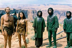 Makeup creator John Chambers said he deliberately modified the simian features of the apes to make them more attractive.