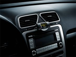 The Ego Flash is a full-featured, hands-free cell phone device that mounts to your vehicle's dashboard. See more pictures of car gadgets.