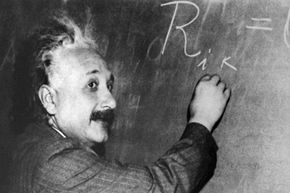 Geniuses aren't perfect, but they're pretty close. Are we sure Einstein was really bad at math?