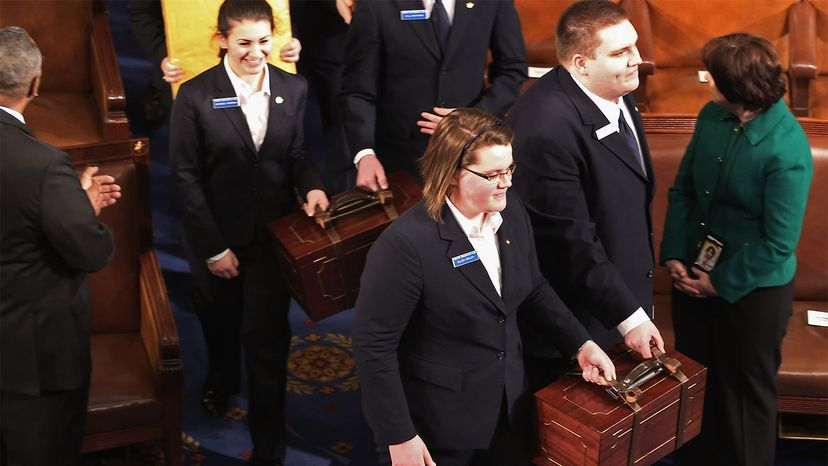 senate pages, electoral college votes