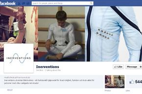 The Facebook page for Inerventions, the company started by Frederik Lundqvist to develop and produce the Elektrodress, shares news and press coverage of the innovative therapeutic technology.