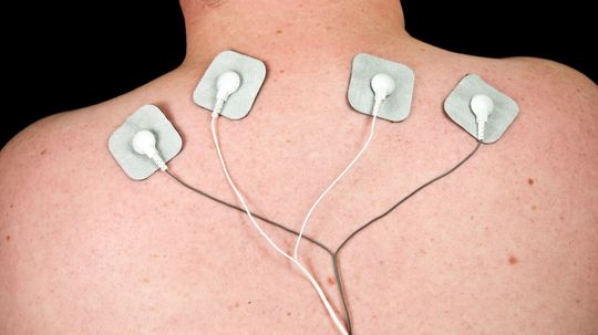 How can an electrode suit treat nerve disorders?