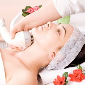Getting Beautiful Skin Image Gallery Woman receiving electrolysis at spa. ee more pictures of getting beautiful skin.