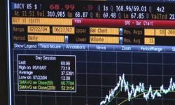 Screenshot of electronic trading. See more investing pictures.