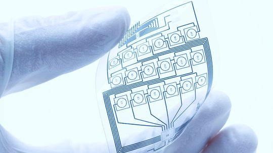 How can electronics be stretchable?