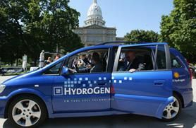 Will hydrogen fuel cells ever become a viable green car option?