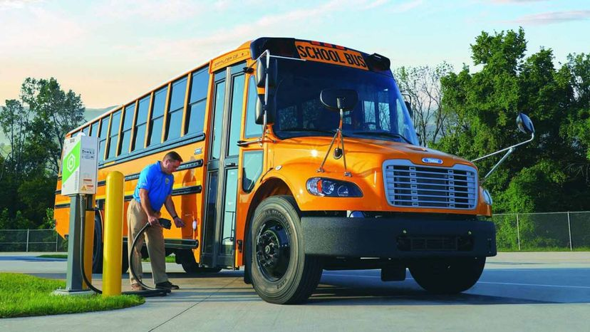 Montgomery County school buses go electric