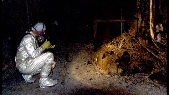 Chernobyl's Elephant's Foot Is a Toxic Mass of Corium