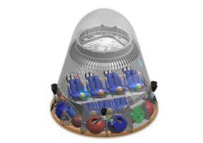 Dragon capsule in crew configuration
