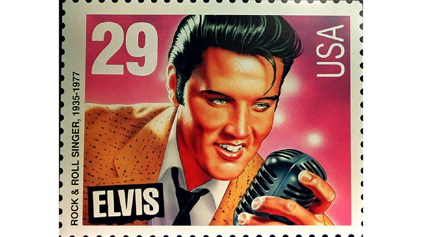 Elvis, stamp