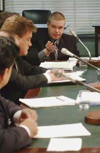 Ronald Scelson, of Scelson Online Marketing, a self-described sender of spam, during a Senate Commerce hearing on computer spam on May 21, 2003.