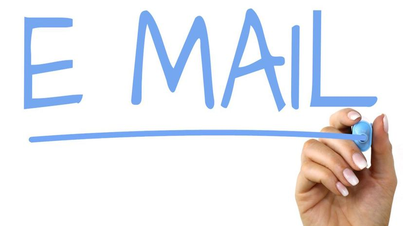 email, font