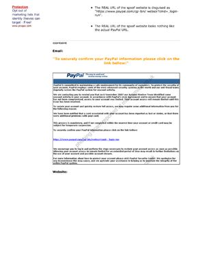 E-mail scams such as phishing involve sending fake e-mails.