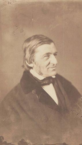 Old Portrait of Ralph Waldo Emerson