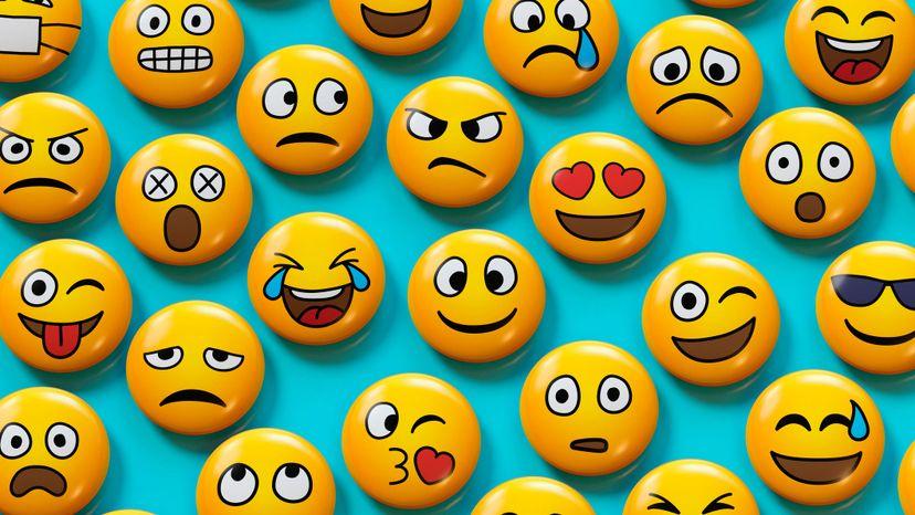variety of emojis