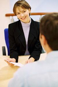 You'll most likely have an interview with the employment agency so it can place you.