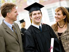 A high school diploma is often a one-way ticket out of the parental nest.