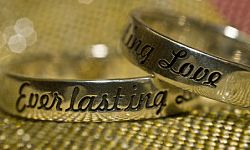 """Does """"Everlasting Love"""" describe your relationship and what you want for the marriage?"""