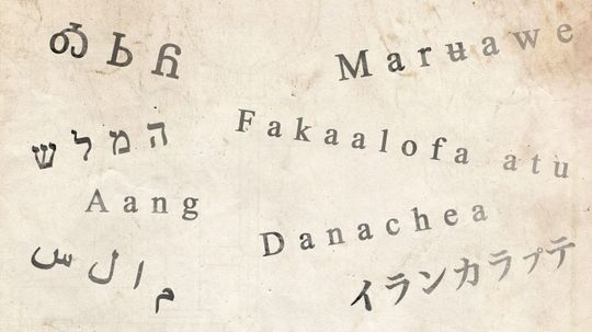 It's a Small World, and It's Wiping Out Languages